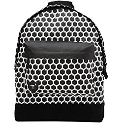 Mi-Pac Custom Prints Backpack Mochila Tipo Casual, 41 cm, 17 Litros, HoneyC Blk/Wht