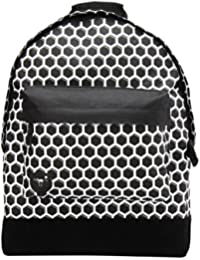 Mi-Pac Custom Honeycomb Sac à Dos Loisir, 41 cm, Noir/Blanc