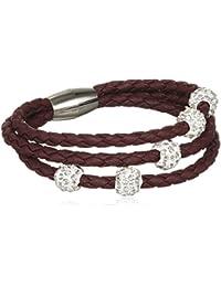 sweet deluxe Damen-Armband rhodiniert Glas 19 cm - 4454