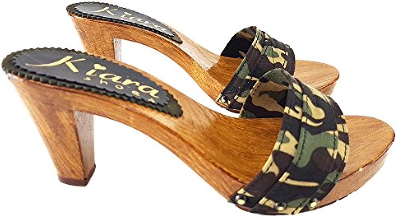 Kiara scarpe Zoccolo Camouflage Tacco 8 cm - Consegna Consegna Consegna in 24 48 Ore lavorative - 72 Ore Isole e cap remoti (Italia... | Sito Ufficiale  ed2fa1
