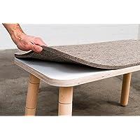 Preisvergleich für Pure² Filzauflage für Sitzbank Growing Table Position aus 100% Schurwolle
