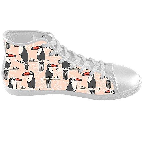 Dalliy Toucan Bird Cartoon Kids Canvas shoes Schuhe Footwear Sneakers shoes Schuhe D