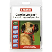 Beaphar Gentle Leader Licol pour chien Rouge Taille S