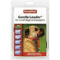 Beaphar Gentle Leader Hundehalfter, Größe S, rot