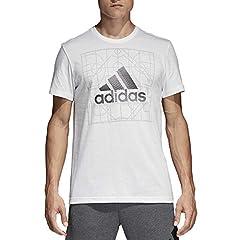 Idea Regalo - adidas Adi Court, Maglietta Uomo, Bianco, L