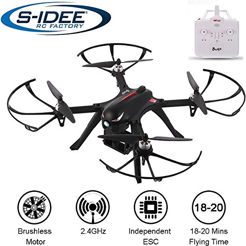 s-idee® 01658 Bugs 3 Drohne Brushless Motoren MJX Serie Quadrocopter Emulation the inescapable up Stiffness, bis zu 20 min. Flugzeit VR Drohne, Gopro / Note-bearer Effectiveness-Kamera VR möglich