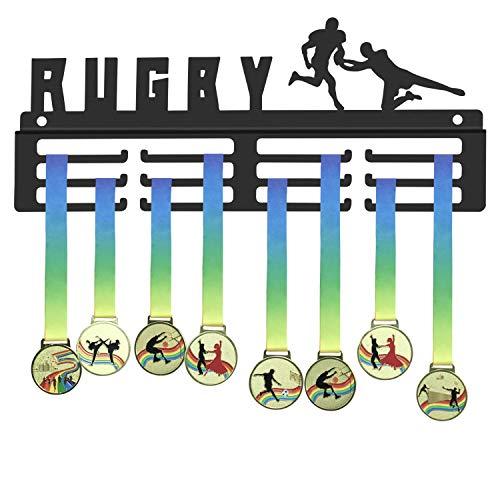 WEBIN, Porta medaglie per Rugby, Partite di Calcio, espositore per trofei Sportivi, Porta premi in Metallo