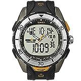 Timex  T5K402 - Orologio da polso da uomo, cinturino in resina colore nero