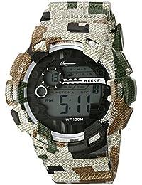 Burgmeister BM803-027 - Reloj para hombres, correa de plástico multicolor