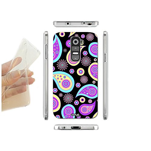 caselabdesigns-funda-carcasa-slim-pattern-black-para-lg-g2-mini-d620-tpu-cubierta-en-silicona-suave