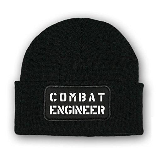 * Mütze / Beenie -Mütze COMBAT ENGINEER_Pionier USA Army Wollmütze Elite Komando Winter Kopfbedeckung Militär Armee #7080 (Engineer Combat)