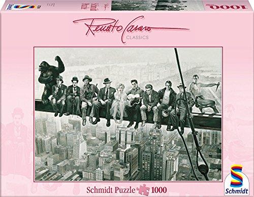 Schmidt Spiele 57294 - Renato Casaro, Drehpause, 1000 Teile Puzzle (Traum-synonyme)