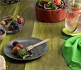 BELLE VOUS 200-teiliges Einweg Holzbesteck Set - Gabeln (100), Löffel (50) und Messer (50) - Umweltfreundliches Geschirr - Reise Besteck für Partys, Hochzeiten und Picknicks - Einwegbesteck aus Holz - 10