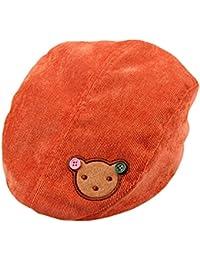 967dba7cb6d1 Samgu Bébés garçons Filles Infant Corduroy Chapeau d ours Beret Cap pour ...