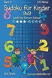 Klassisches Sudoku für Kinder 9x9 - Leicht bis Extrem Schwer - Band 8 - 145 Rätsel