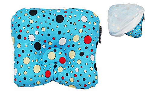 Wobbly Walk Baby Pillow Cotton Material, Soft Siliconized Polyester Fibre Filling For Infants