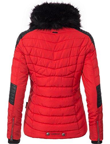 Marikoo Damen Winter Jacke Steppjacke Mamba vegan hergestellt Abbildung 2