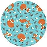 9 Stück Muffinaufleger Muffinfoto Aufleger Foto Bild Rusty der Fuchs / the Fox (1) rund ca. 6 cm *NEU*OVP*