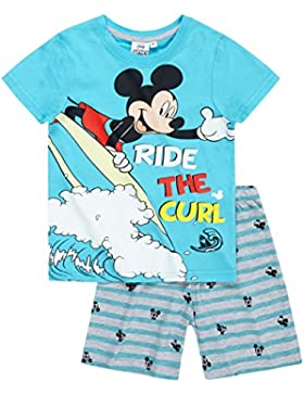 Disney Mickey Chicos Pijama mangas cortas 2016 Collection - Azul