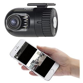 NavGear Dashcam ohne Kabel: Mini-HD-Dashcam MDV-1600.av mit G-Sensor, WLAN und Smartphone-App (Dashcam kabellos)