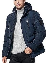 KPPONG 2018 Heißer Männer Jacke Mantel Mode Konventionelle Winter Hoodie  Reißverschluss Einfarbig Mit Kapuze Tasche Verdickte 2795810cfb