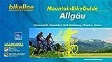 bikeline MountainbikeGuide Allgäu: Immenstadt, Oberstdorf, Bad Hindelang, Pfronten, Füssen, 750 km, 1:35.000, 750 km, wetterfest/reißfest, GPS-Tracks-Download -