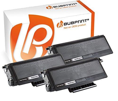 Bubprint 3x Toner kompatibel für Brother TN-3170 black DCP-8020 HL-3145