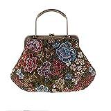 Perlen Handtasche In Chinesischen Orientalischen Vintage Stil Satin Stickerei Hochzeit Braut Abend...