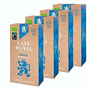 Café Royal Fair & Organic lungo Bio, caffè, caffè tostato, Capsule, Nespresso Compatibile, 40Capsule 1