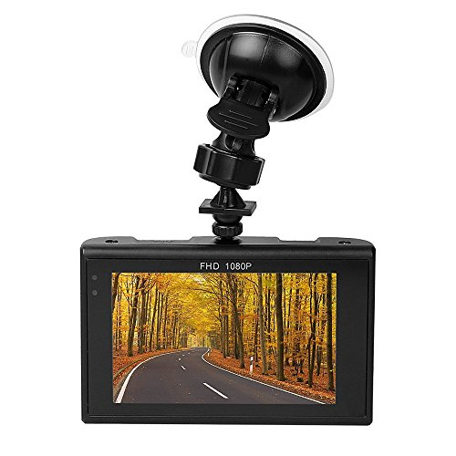 InnooTech Auto Kamera Full HD 1080P , DVR Recorder LCD Camcorder mit 170 Grad Weitwinkelobjektiv , Nachtsicht Auto Video Recorder , ahtlose Endlosschleifen-Aufnahme , Bewegungserkennung , 16G 3 Zoll