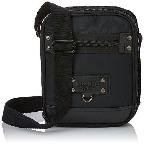 LIBERTO - 261927, borsa a tracolla Uomo Nero (Black)