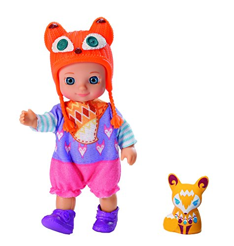 Zapf Creation 920336 - Chou Chou Zorros Muñeca Mini Lucky