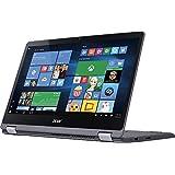 Acer 2017 Aspire R15 2-in-1 15.6-Inch Full HD IPS Touchscreen Laptop PC, Intel Core I5-7200U 2.5GHz, 8GB RAM, 1TB HDD, Wi-Fi, Windows 10, Steel Gray