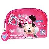 Disney Minnie Fabulous Porte-monnaie, 12 cm, 0.19 liters, Rose (Rosa)