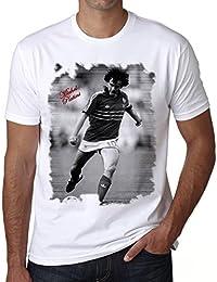 Michel Platini T-shirt,cadeau,Homme,Blanc,t shirt homme
