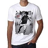 Michel Platini T-shirt,cadeau,Homme,Blanc, XL,t shirt homme