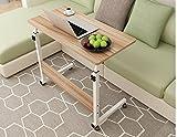 KHSKX Tavolo ribaltabile portatile di moda, letto estraibile scrivania sollevamento , Oak color