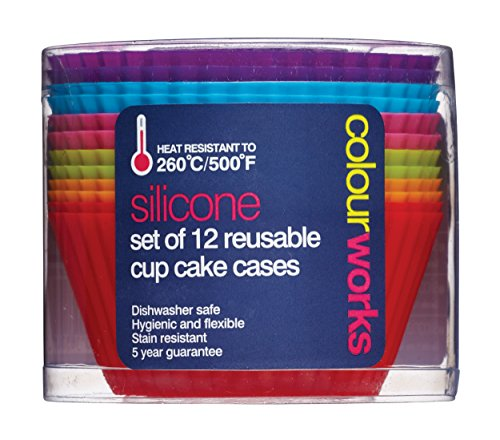kitchen-craft-colourworks-silicone-reusable-cupcake-cases-7-cm-pack-of-12