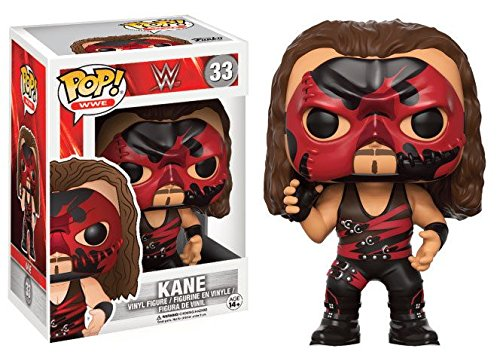 Funko 13443 – WWE Wrestling, Pop Vinyl Figure 33 Red Suit Kane
