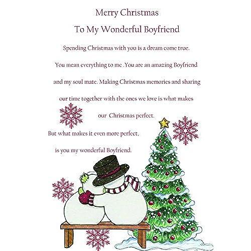 Boyfriend christmas card amazon boyfriend christmas card cute m4hsunfo Gallery