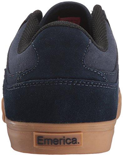 Skate Shoe Uomo Emerica Hsu Low Vulc Scarpe Da Skate Navy/Gum