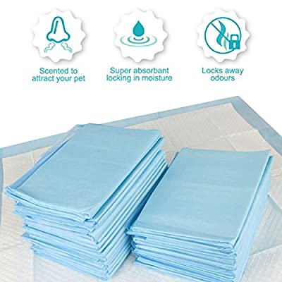 Dog Pet Products Large Multi Layer Absorbent Puppy Training Pads Wee Wee Toilet Trainer 60 x 45cm 105 Pack