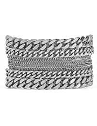 a06ad78f5b4199 Hipanema Bracelet Agyness Silver Talle S