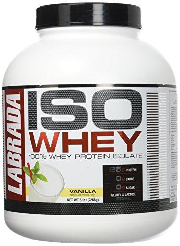 Labrada nutrition - labrada iso lean pro vanilla 5b