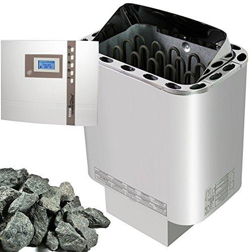 NORDEX SAUNAOFEN 9 kW SAUNASTEUERUNG EOS ECON D 1 + SAUNASTEINE
