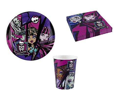 Monster High 2 Partyset (Teller, (2 Monster High)