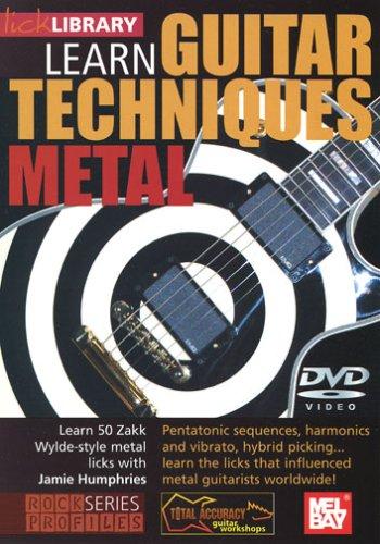 LEARN GUITAR TECHNIQUES: METAL REINO UNIDO DVD