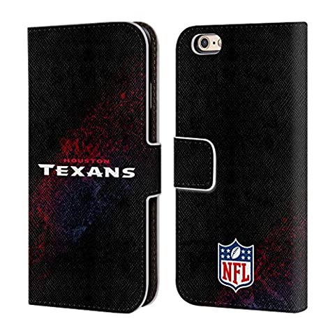 Officiel NFL Tache Houston Texans Logo Étui Coque De Livre