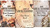 The First Law Trilogy Boxed Set: The Blade Itself, Before They Are Hanged, Last Argument of Kings (Box Set) - Joe Abercrombie