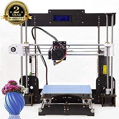 3D Drucker Desktop DIY 3D-Drucker Selbstmontage Prusa i3 Kit High Precision 3D Printer mit LCD Bildschirm-Tigtak(Plattformgröße 220 * 220 * 240